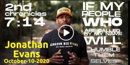 Jonathan Evans - Official Endorsement (October-10-2020)