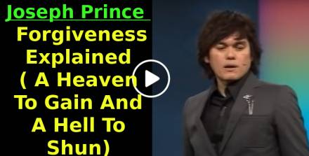 Joseph Prince (Sep.21, 2011) - Forgiveness Explained ( A Heaven To Gain And A Hell To Shun)