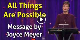 All Things Are Possible - Joyce Meyer