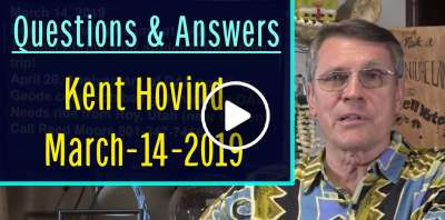 Kent Hovind - Questions & Answers (March-14-2019)