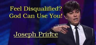 Feel Disqualified? God Can Use You! - Joseph Prince (25-02-2018)