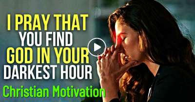 When YOU NEED God The Most! - Christian Motivation