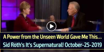 A Power from the Unseen World Gave Me This… Sid Roth's It's Supernatural! (October-25-2019)