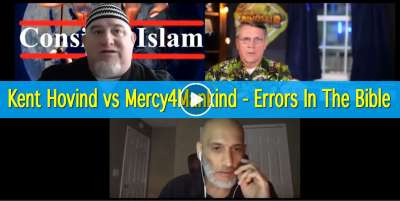 Kent Hovind vs Mercy4Mankind - Errors In The Bible (November-01-2019)