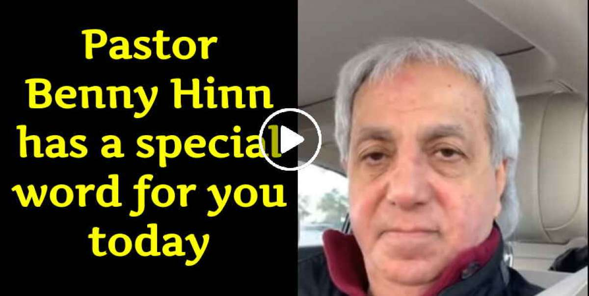 Pastor Benny Hinn has a special word for you today. (January 17, 2019)