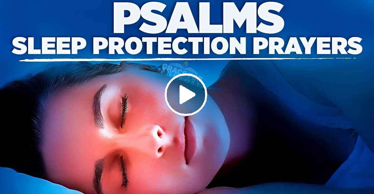 Psalms For Sleep | Bible Verses For Bedtime Prayer and Peace - Fall Asleep In God's Promises