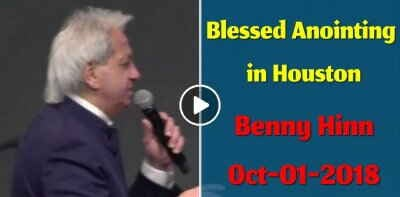 Benny Hinn - Blessed Anointing in Houston (October-01-2018)