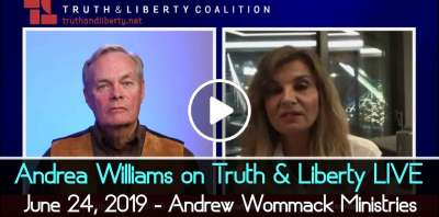 Andrea Williams on Truth & Liberty LIVE - June 24, 2019 - Andrew Wommack Ministries