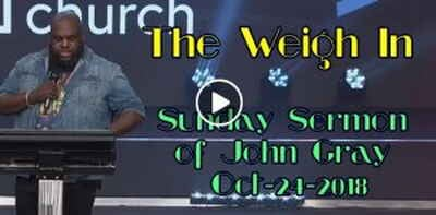 The Weigh In - John Gray (October-24-2018)