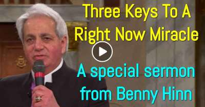 Three Keys To A Right Now Miracle - a special sermon from Benny Hinn (February-02-2019)