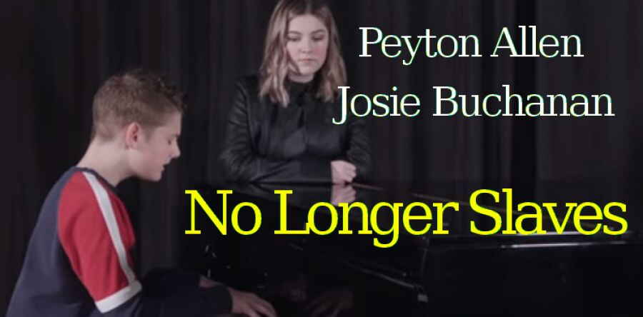 No Longer Slaves (Acoustic) - Peyton Allen and Josie Buchanan, BRIGHT ONES