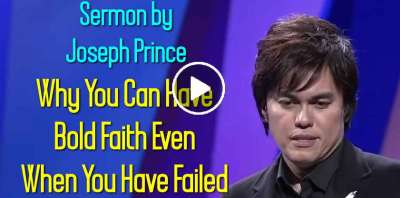 Joseph Prince - Why You Can Have Bold Faith Even When You Have Failed (June-17-2019)