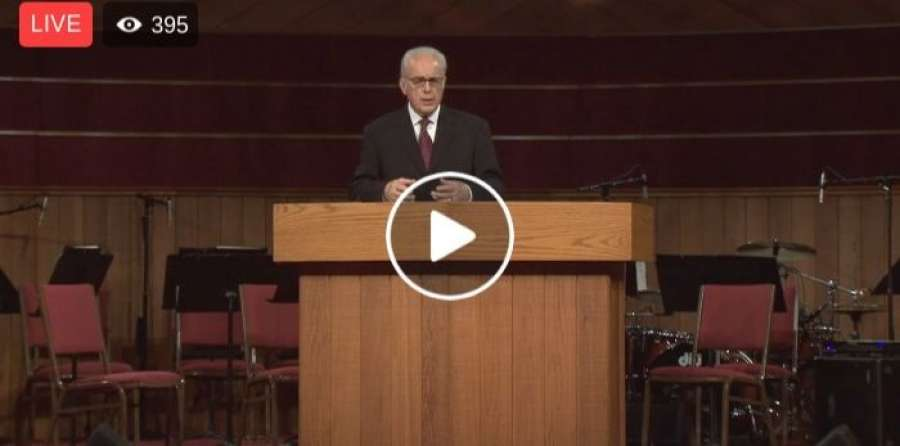 John MacArthur - Good Friday Service in Grace Community Church - April 19, 2019
