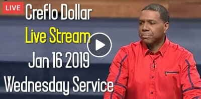 Creflo Dollar Ministries, Wednesday Service (January 16 2019) Live Stream