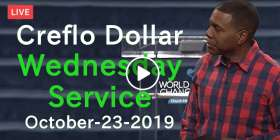 Creflo Dollar October-23-2019 Wednesday Service Live Stream