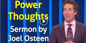 Power Thoughts - Joel Osteen
