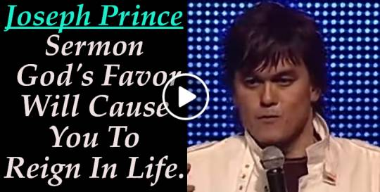 Joseph Prince - God's Favor Will Cause You To Reign In Life - Classic Sermon  (August-24-2019)