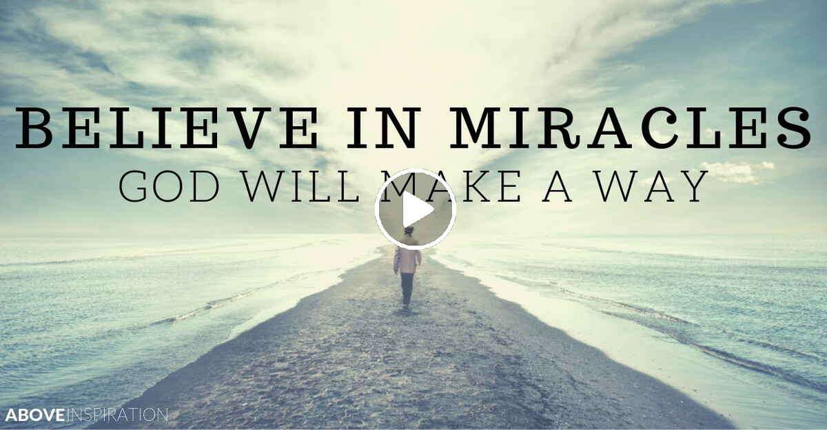GOD OF MIRACLES | Nothing is Impossible - Christian Motivation