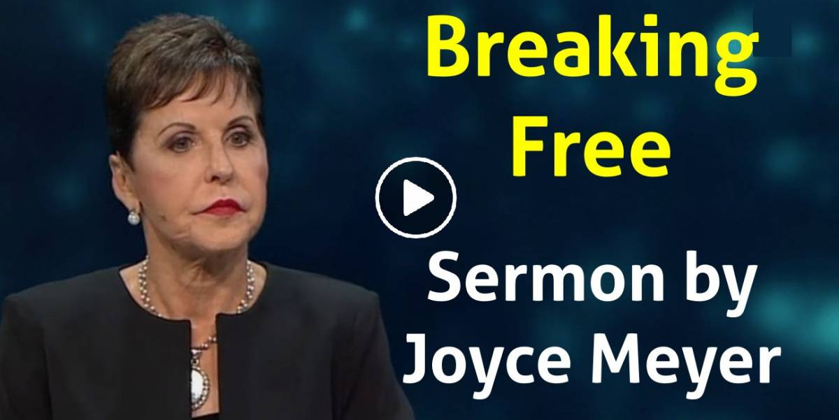 Breaking Free of Wilderness Mindsets - Part 1 - Enjoying Everyday Life - Joyce Meyer Ministries