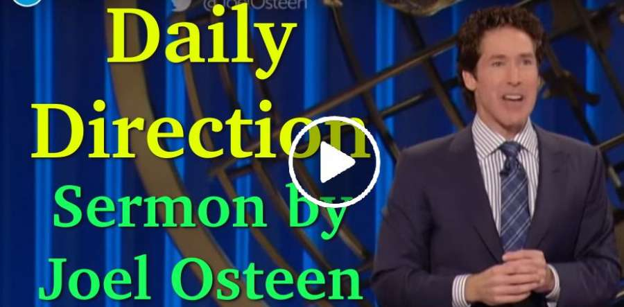 Joel Osteen - Daily Direction (2016-10-15)