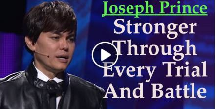 Joseph Prince - Stronger Through Every Trial And Battle (27 May 2018)