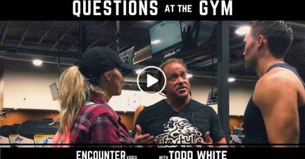 Todd White - Questions and Answers at the Gym (February-27-2021)