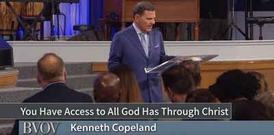 You Have Access to All God Has Through Christ - Kenneth Copeland (April-25-2018)
