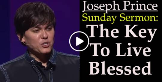 Joseph Prince - The Key To Live Blessed (May-02-2019)