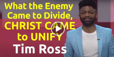 What the Enemy Came to Divide, Christ Came to Unify - Tim Ross, Gateway Church (July-20-2020)