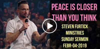 Steven Furtick Ministries - Sunday Sermon - February-04-2019 Peace is closer than you think.