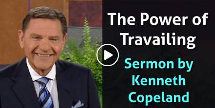Kenneth Copeland (Aug 26, 2018) - The Power of Travailing