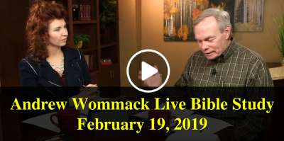Andrew's Live Bible Study - February 19, 2019