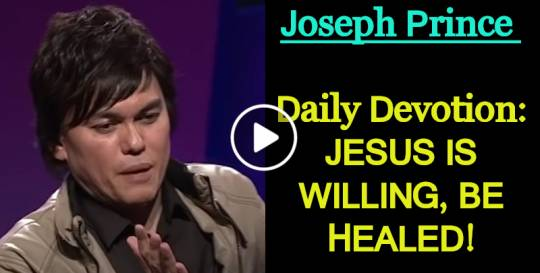 JESUS IS WILLING, BE HEALED! - Joseph Prince Daily Devotion (February-11-2019)