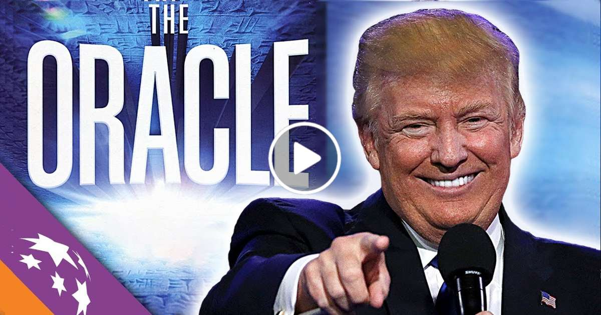 THE ORACLE: Ancient Prophecy Foretelling Trump & End Times   Jonathan Cahn - Sid Roth's It's