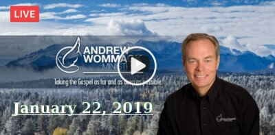 Andrew Wommack's Live Bible Study - January 22, 2019
