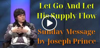 Joseph Prince - Let Go And Let His Supply Flow (May-05-2019)