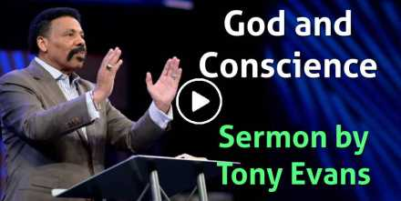 God and Conscience - Tony Evans (November-01-2020)