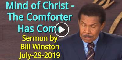 Mind of Christ - The Comforter Has Come (July-29-2019) Bill Winston