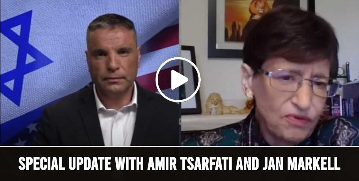 Special Update with Amir Tsarfati and Jan Markell (July-07-2020)