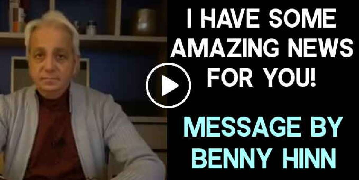 I have some amazing news for you! - Benny Hinn (January-29-2020)