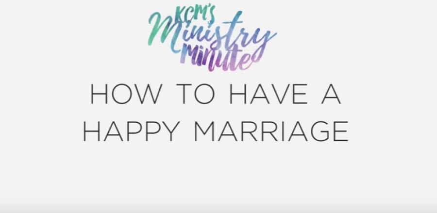 How to Have a Happy Marriage Ministry Minute with Gloria Copeland 13 Feb. 2018