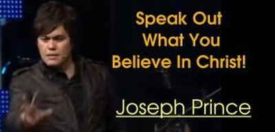 Speak Out What You Believe In Christ! - Joseph Prince (17-Oct-2010)