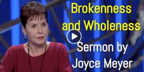 Joyce Meyer - Brokenness and Wholeness (September-24-2020)