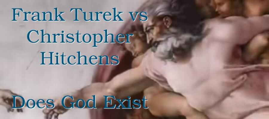 Frank Turek vs Christopher Hitchens - Does God Exist?