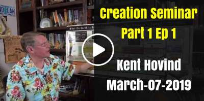 Kent Hovind - Creation Seminar Part 1 Ep 1 (March-07-2019)