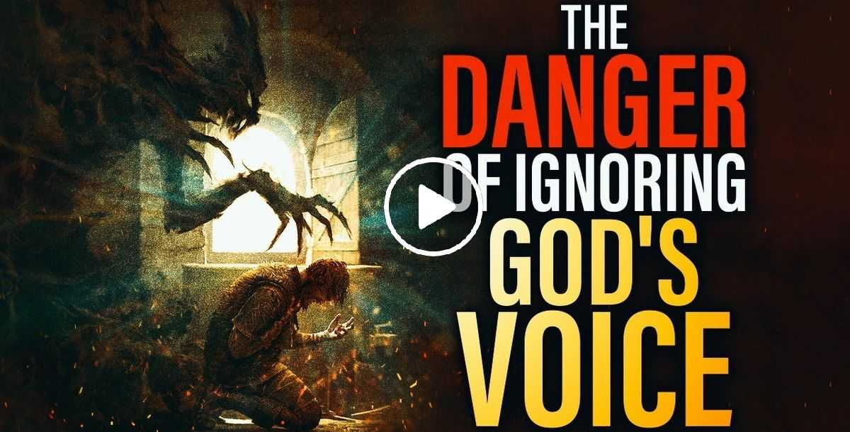 Please Protect Your Faith - THE DANGER OF IGNORING GOD'S VOICE - Christian Motivation