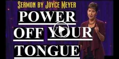 Joyce Meyer - Power Off Your Tongue (March-17-2019)