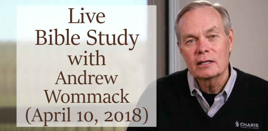 Humility - Bible Study with Andrew Wommack and Rich Vanwinkle (April 10, 2018)