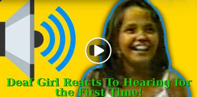 Deaf Girl Reacts To Hearing for the First Time! - Sid Roth's It's Supernatural! (May-24-2019)
