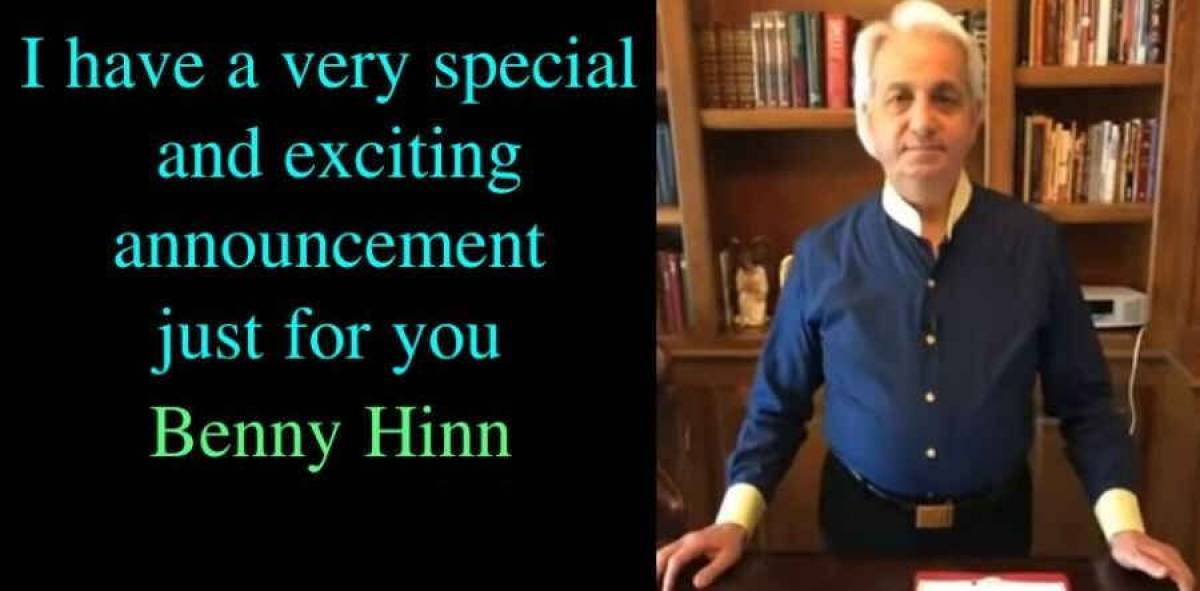 I have a very special and exciting announcement just for you - Benny Hinn (July-20-2018)